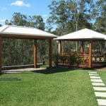 Asphalt Tiled Gazebo