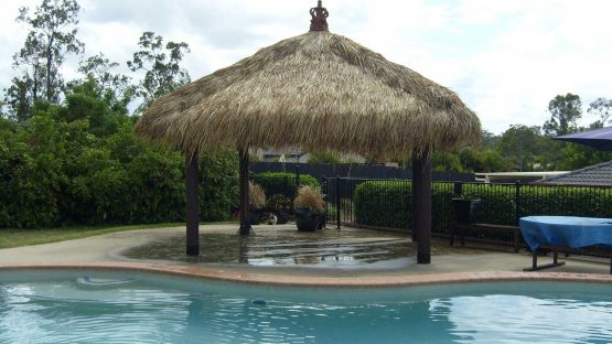 Thatched Bali Huts